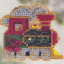 Mill Hill Holiday Express Cross Stitch Kit - Multi