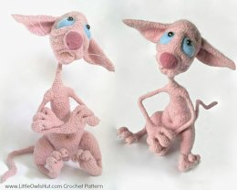 006 Hairless Cat Fillimon Amigurumi Toy Ravelry