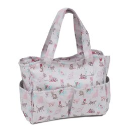 Groves Cats Craft Bag (Matt PVC)