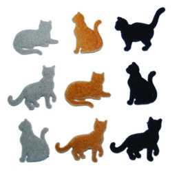Dress It Up Buttons Country Cats
