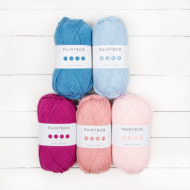 Knitting Universe Knitters Paintbox : Paintbox yarns simply chunky ball colour pack designer picks