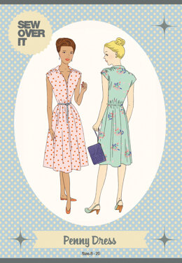 Sew Over It Penny Dress - Downloadable PDF