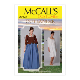 McCall's Misses' Costume M7940 - Sewing Pattern