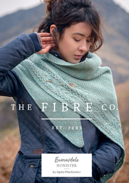 Honister Shawl in The Fibre Co. Lore - Downloadable PDF