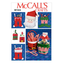 McCall's Christmas Items M7304 - Sewing Pattern