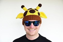 Giraffe Hat Crochet Pattern