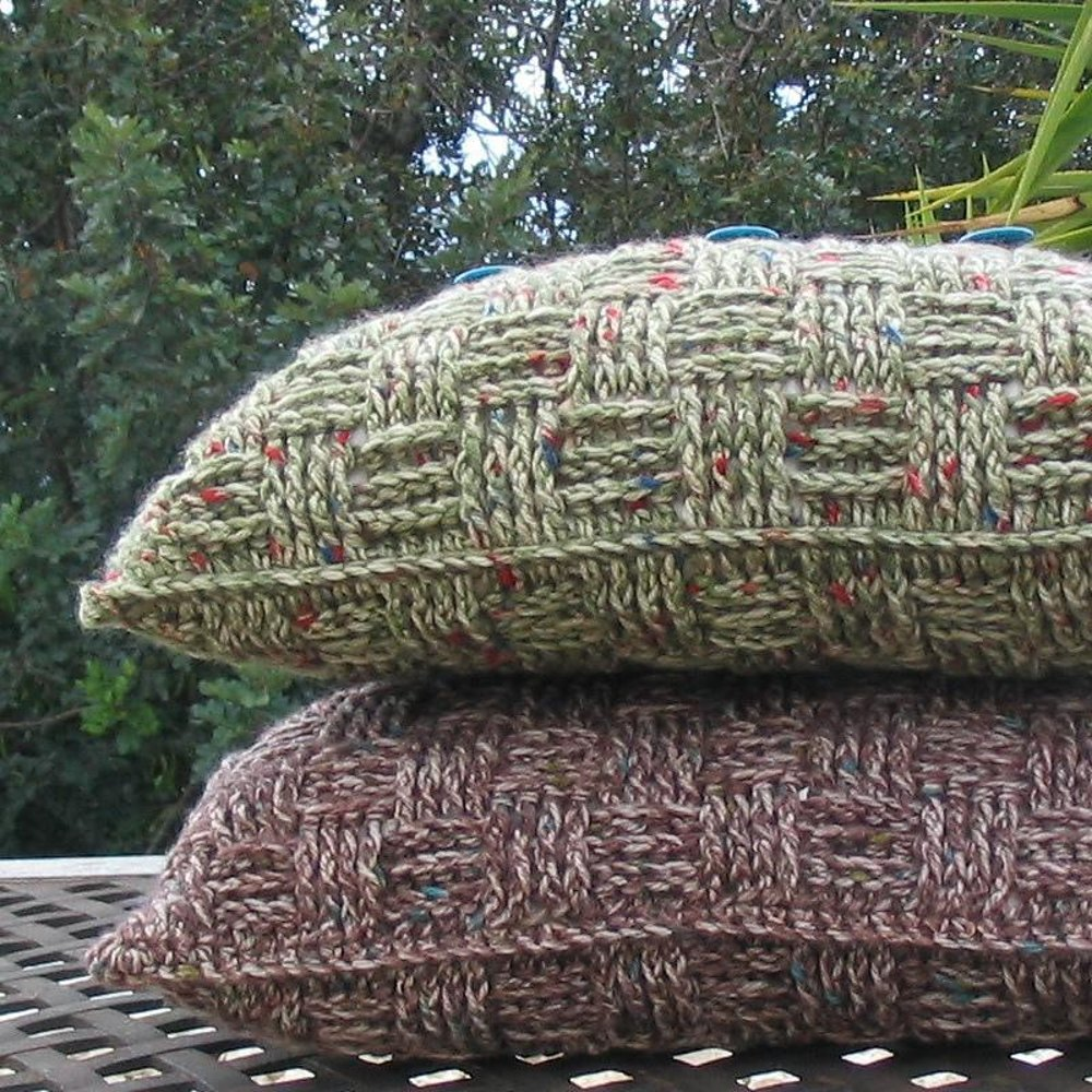 Chunky Basketweave Cushion Cover Crochet pattern by Dianne Greenall ...