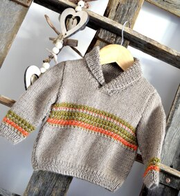 Rustic Sweater - P157