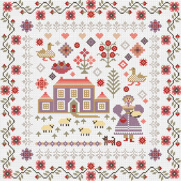 Riverdrift House Lavender House Cross Stitch Kit