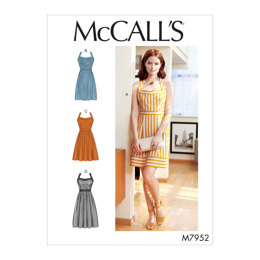 McCall's Misses' Dresses M7952 - Sewing Pattern