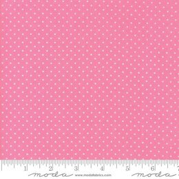 Moda Fabrics First Romance Cut to Length - Sweet Pea Floral Seeds - Pink