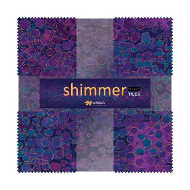 Northcott Shimmer 10 in Squares