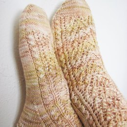 Elves and Elms Socks in Madelinetosh Tosh Sock