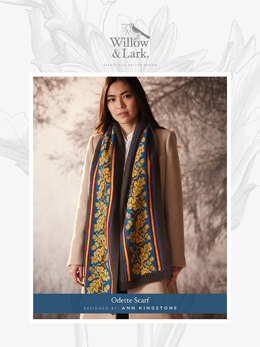 Odette Scarf in Willow and Lark Ramble - Downloadable PDF