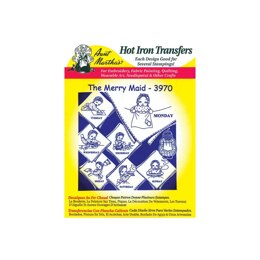 Aunt Martha's Hot Iron Transfers - Holiday/Traditional/Vintage - TP103 - Leaflet