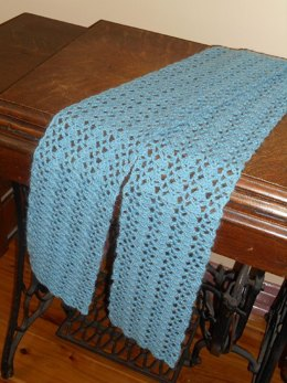 Shells and Scales Scarf
