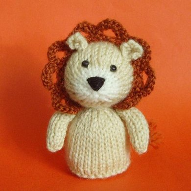 Jelly Bums Lion Knitting Pattern By Raynor Gellatly Knitting