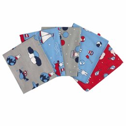 Visage Textiles Miffy Holiday Fat Quarter Bundle - Multi