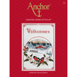 Anchor Welcome Bullfinches Cross Stitch Kit