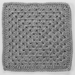 Granny Square in Read Heart Soft - LW4132EN-11