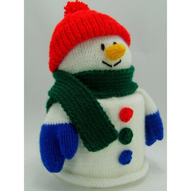 Snowman Toilet Roll Cover