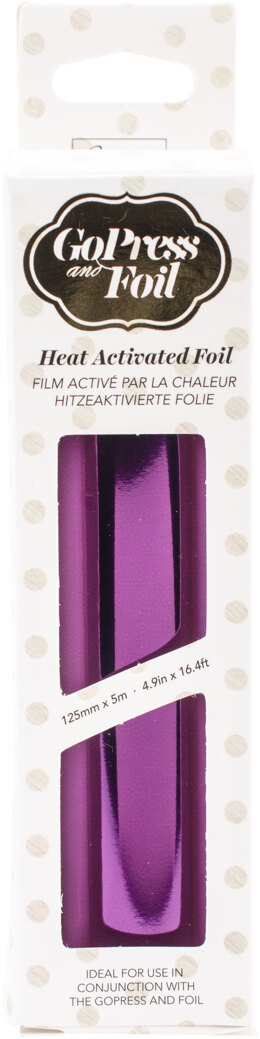 "Artdeco Creations Couture Creations Foil 5""X16.4' - Phantom Purple - Iridescent Material"