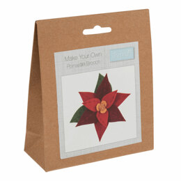 Trimits Felt Decoration Kit: Poinsettia Kit