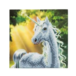 Craft Buddy Sunshine Unicorn Crystal Card Kit