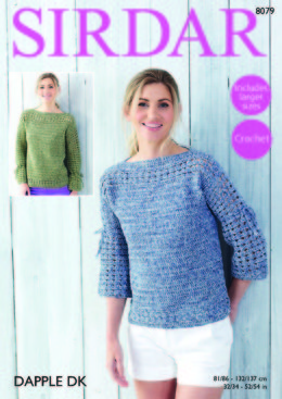 Tops in Sirdar Dapple DK - 8079 - Downloadable PDF