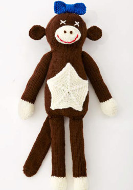 Lucy The Monkey Toy in Caron United - Downloadable PDF
