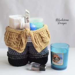 Cable Sweater Gift Basket