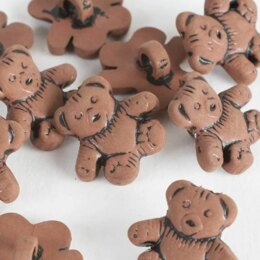 Impex Trimits Teddy Bear Plastic Buttons