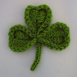 Shamrock and Four Leaf Clover Pin