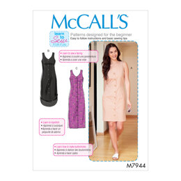 McCall's Misses'/Women's Dresses M7944 - Sewing Pattern