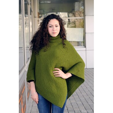 Grasshopper poncho for kids and adults