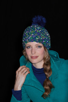 Crocheted Hat in Schachenmayr Lumio Color - Downloadable PDF