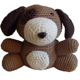 Amigurumi Jeffrey the Dog