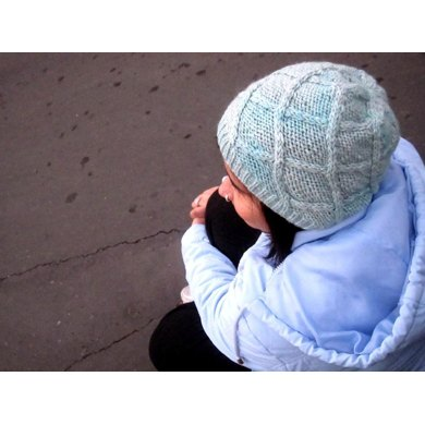 Intwined Slouchy (Knitted Cap)