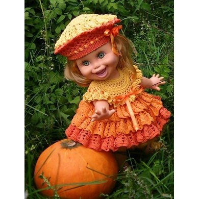 Pumpkin for Baby Face doll