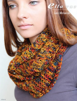Infinity Scarf in Ella Rae Lace Merino DK - ER6-02 - Downloadable PDF