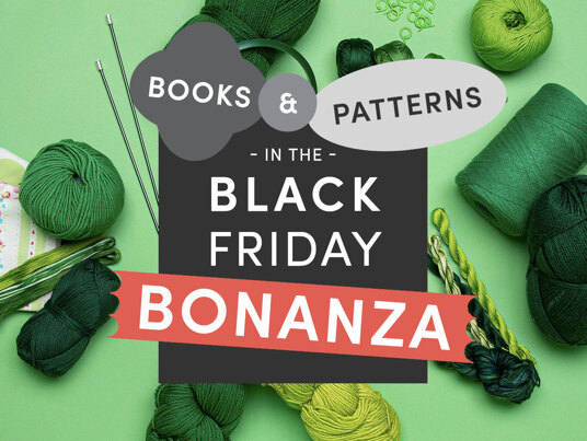 Up to 60 percent off in the Black Friday Patterns BONANZA!