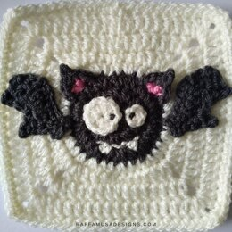Bat Granny Square