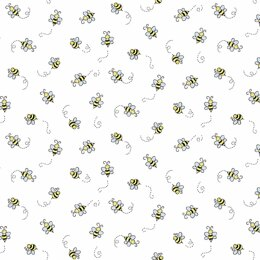 Andover Bumble Bee - White