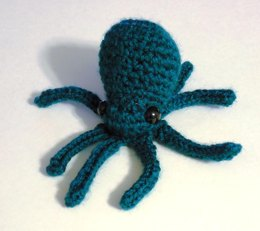 Mini Octopus Amigurumi Plush Toy