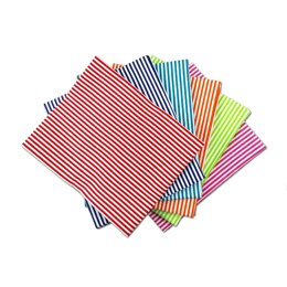 Visage Textiles Bright Stripes Fat Quarter Bundle - Multi