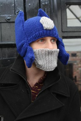 Robot Knit Hat-ADULT