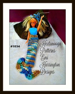 1034 - Barbie Mermaid Tail