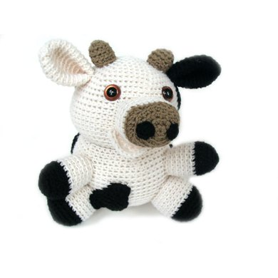 Amigurumi Jackie the Cow