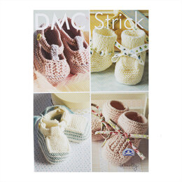 Baby Booties and Baby Shoes in DMC Woolly - 15197L/3 - Leaflet