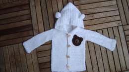 Sweet Teddy jacket for new-born's